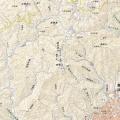 山行記録のルート表示方法をどうしようか…国土地理院地図は使いたい。