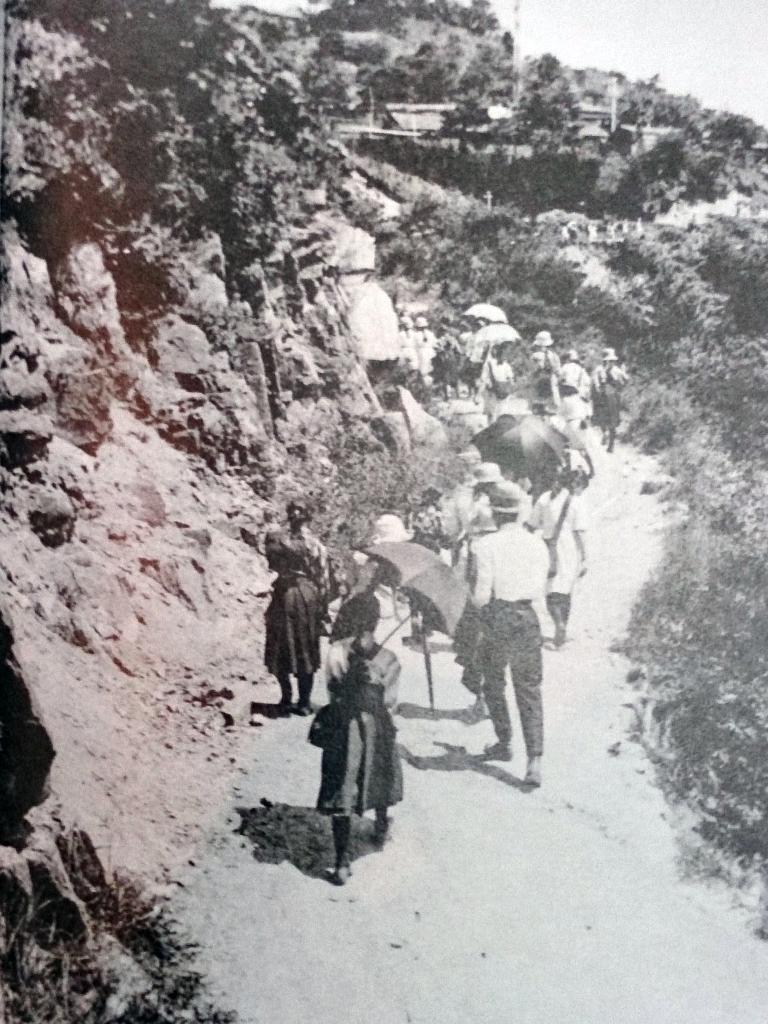 昔の六甲登山道