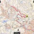 国土地理院電子国土Webで登山ルートマップを作る。山行記録のまとめ方修正版。