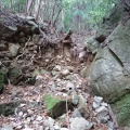 葺合町古輪谷から旧摩耶道を経て山門ノ谷へ。その後配水管の続きを確認しておく。