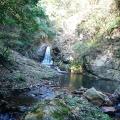 六甲川遡行。大土神社脇から入渓、都賀谷上流右俣から丁字ヶ辻まで登り詰める。
