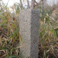 神戸市境界石No.93 学校林道 神戸港線一九鉄塔の南にて。